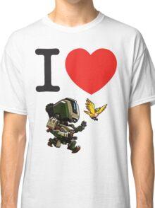 I Heart Bastion Cute Spray Classic T-Shirt