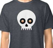 Spooky Silly Skull Face Classic T-Shirt