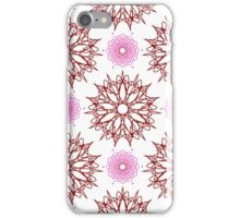 stars like flowers and weaving flowers with points iPhone Case/Skin