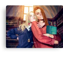 Luna and Ginny Canvas Print