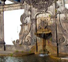 Fountain in Bom Jesus Do Monte, Braga Sticker