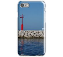 Red, white, blue iPhone Case/Skin