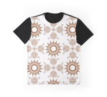 fifteen angle stars and weaving crosses Graphic T-Shirt