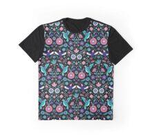 hummingbird garden 2 Graphic T-Shirt