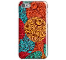 Abstract pattern design iPhone Case/Skin