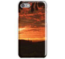 Red Clouds  iPhone Case/Skin