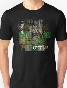 Spin on binary weave Unisex T-Shirt