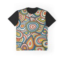 Abstract shapes pattern design Graphic T-Shirt