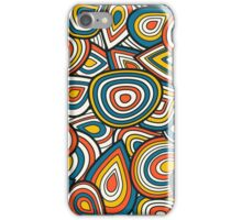Abstract shapes pattern design iPhone Case/Skin