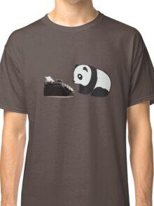 Typewriter Panda Classic T-Shirt
