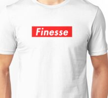 Finesse | Supreme Box Logo | White Background | High Quality! Unisex T-Shirt