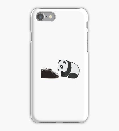 Typewriter Panda iPhone Case/Skin