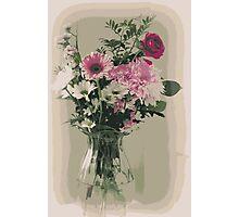 Bubblegum Bouquet Photographic Print