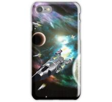 Space Fleet iPhone Case/Skin