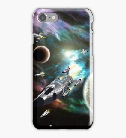 Space Fleet iPhone Case/Skin