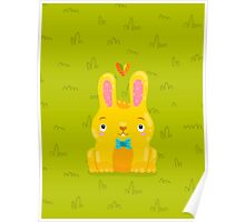Cute Bunny Poster