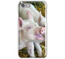 Playful Piggies iPhone Case/Skin