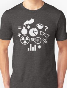 Crazy Science Pattern Unisex T-Shirt