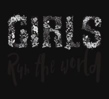 Girls Rule the World  Kids Tee