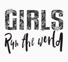 Girls Rule the World  Kids Tee