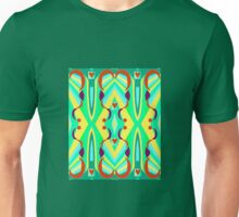 Universoul Art Section Fractal 2 with Hearts added Unisex T-Shirt