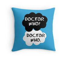 Doctor Who - TFIOS Throw Pillow