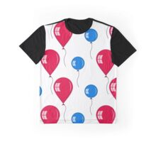 red and blue balloons Graphic T-Shirt