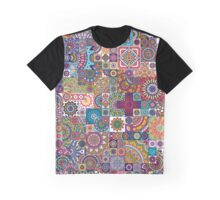 Mosaic background Graphic T-Shirt