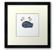 Flask the Cheshire Cat Framed Print