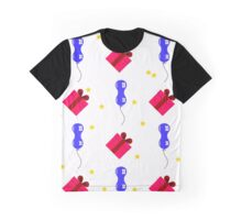 balloons, gifts and stars for holidays Graphic T-Shirt