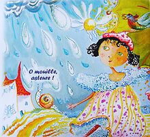 It's raining now by Carol Dumousseau