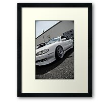 MX6 Framed Print