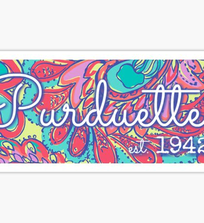 Purduettes - Purdue University Sticker
