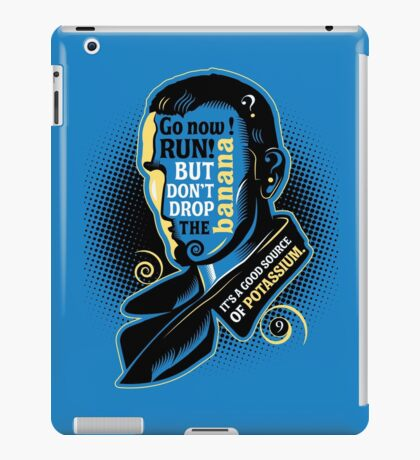 Who Says What #9 iPad Case/Skin