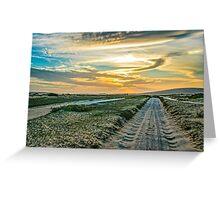 Jericoacoara National Park Dune Road Greeting Card