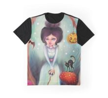 Halloween Friends in the Forest Graphic T-Shirt