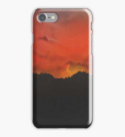 In the land of Mordor iPhone Case/Skin