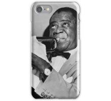 Louis (Satchmo) Armstrong iPhone Case/Skin
