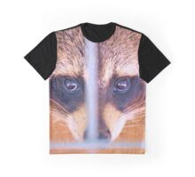 Rocky Racoon Checked Into His Room Graphic T-Shirt