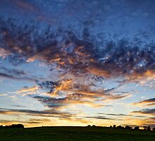 Twilight, Wiltshire, United Kingdom. by Andrew Harker