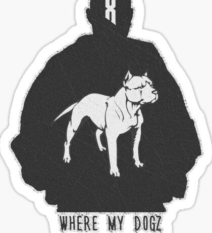RAP / HIP-HOP: DMX Sticker