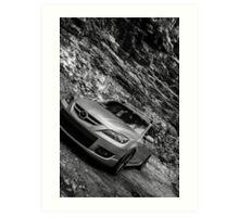 Mazdaspeed3 Art Print