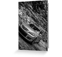Mazdaspeed3 Greeting Card