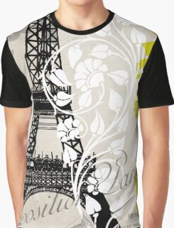 Paris Exposition Eiffel Tower Graphic T-Shirt