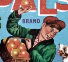 Glens Special PALS Fruit Label Sticker