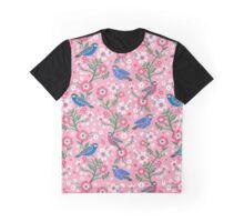 bird chirp in pink Graphic T-Shirt