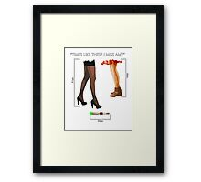 Times Like These... Framed Print