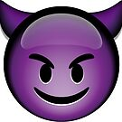 Devil Emoji by SuperFluff