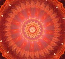 Mandala of love Sticker