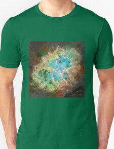 Crab Nebula - Watercolour Unisex T-Shirt